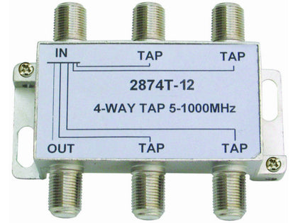 INTERNAL 4/12 'F' Type Tap (5-1000MHz)