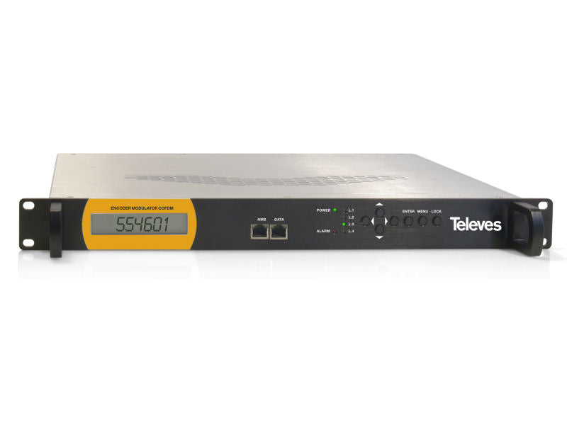 TELEVES COFDM Modulator RACK Mount x1 MUX