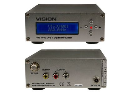VISION Single A/V to COFDM Modulator