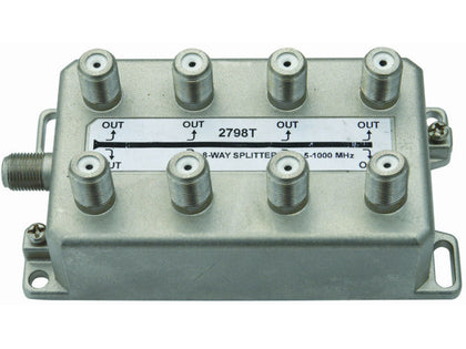 INTERNAL 8 Way 'F' Splitter (5-1000MHz)
