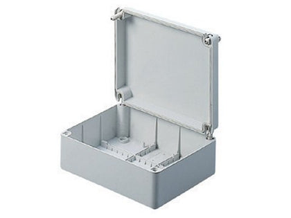 IP56 GREY Moulded Enclosure Box SMALL