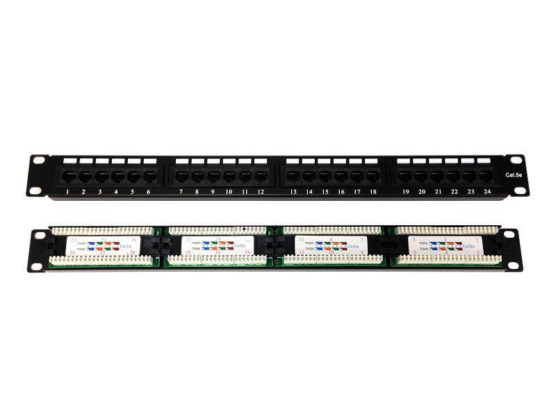 BLACKBOX 24 Port CAT5e Patch Panel