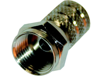 (1) BUDGET Screw 'F' Connector 0.65mm