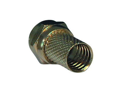 (100) VISION Screw 'F' Connector 1mm