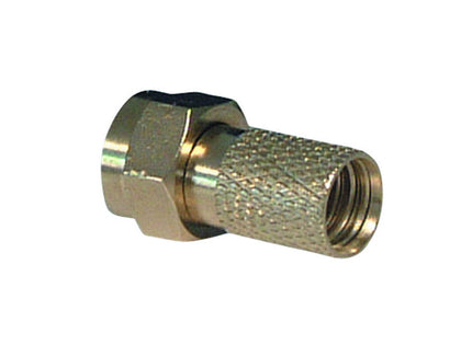 (100) VISION Screw 'F' Connector *Long*1mm