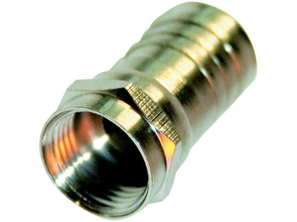 (1) BUDGET Crimp 'F' Connector 1mm