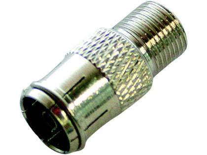 (1) 'F' Female - Coax Female ADAPTOR
