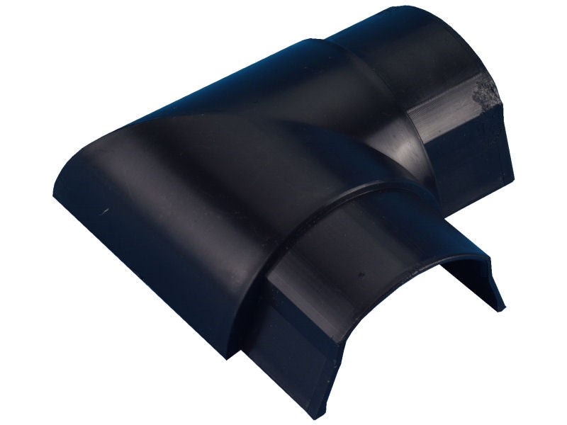 D-LINE 50 x25mm FLAT BEND Black