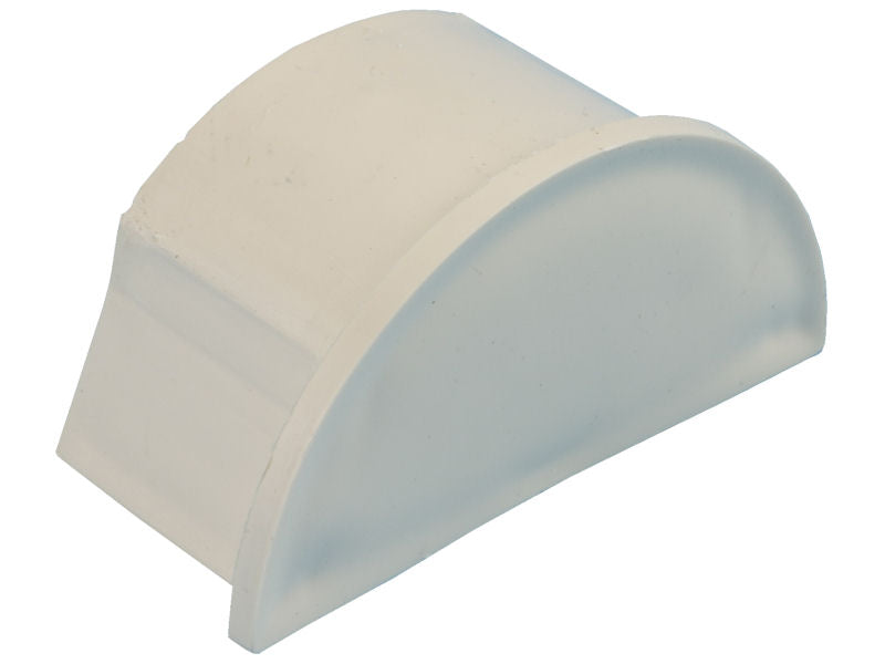 D-LINE 50 x25mm END CAP Magnolia