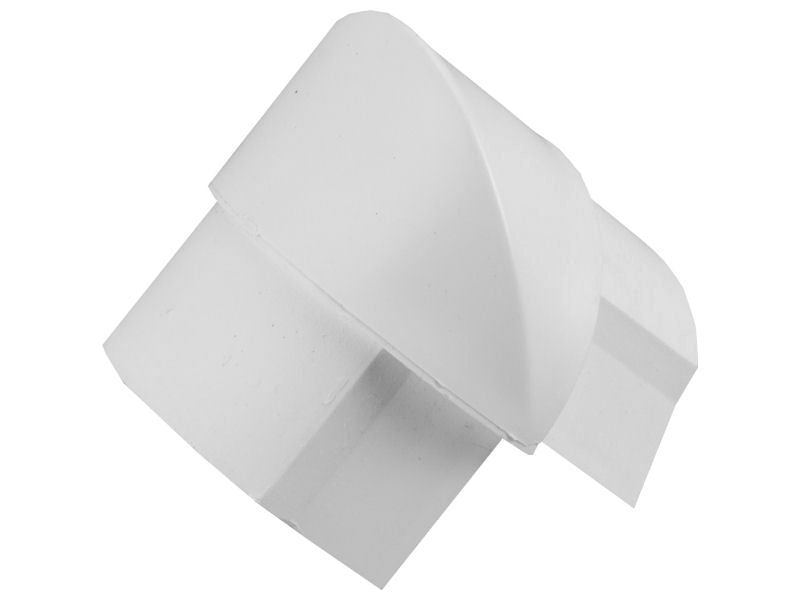 D-LINE 50 x25mm EXTERNAL BEND White