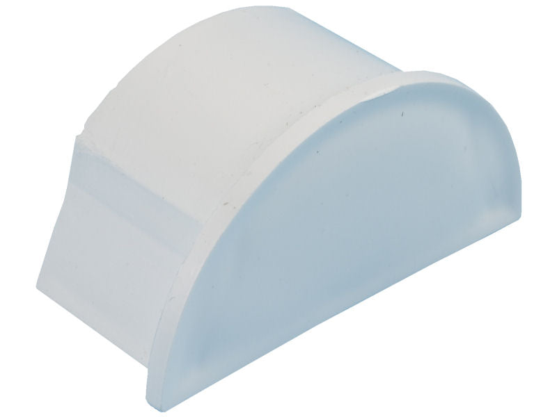 D-LINE 50 x25mm END CAP White