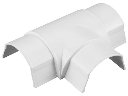 D-LINE 50 x25mm EQUAL TEE White