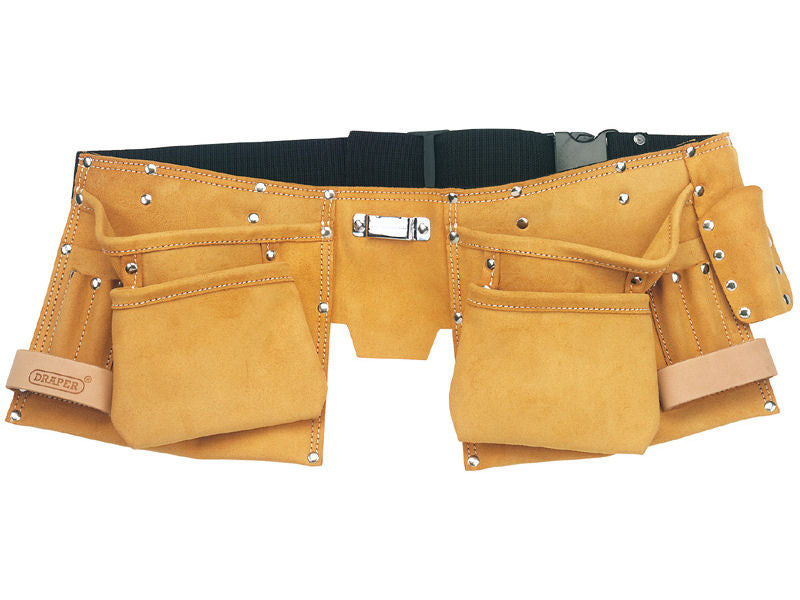 DRAPER Suede Double Tool Pouch