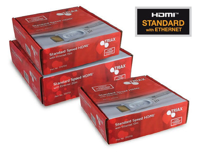 TRIAX HDMI® 20m Standard Speed + Ethernet
