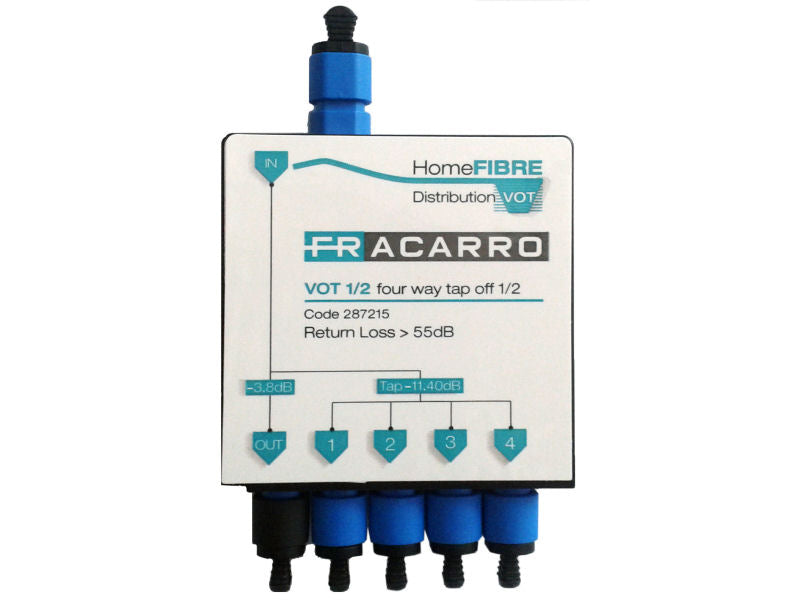 FRACARRO VOT1/2 Mini 4 Way Optical Tap
