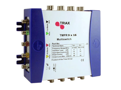 TRIAX TMPR 9x16 REMOTE Multiswitch