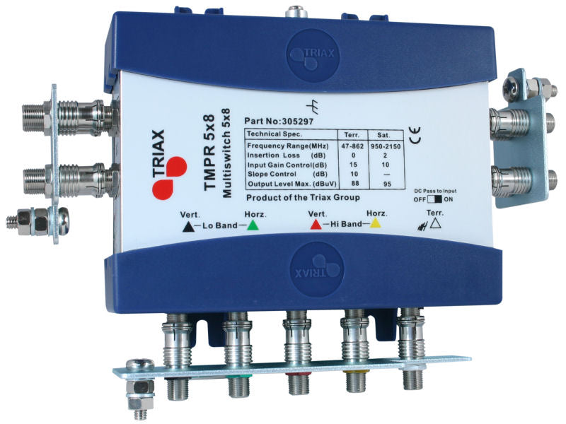 TRIAX TMPR 5x8 REMOTE Multiswitch
