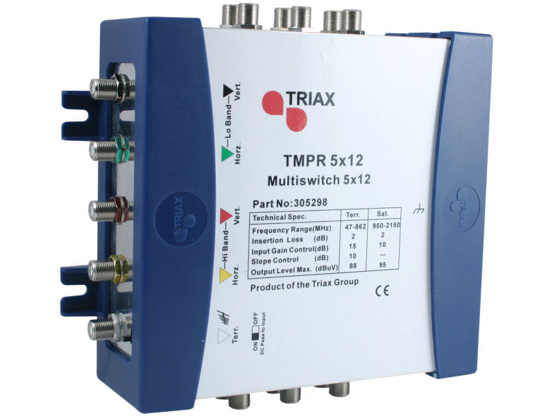 TRIAX TMPR 5x12 REMOTE Multiswitch