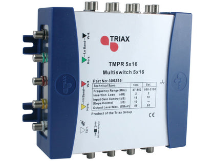 TRIAX TMPR 5x16 REMOTE Multiswitch