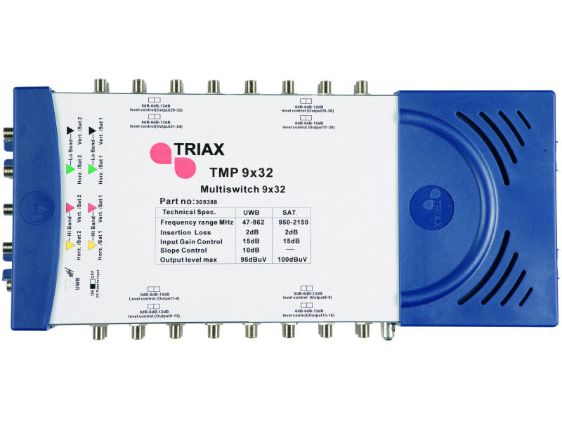 TRIAX TMP 9x32 Multiswitch + LMS