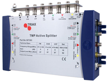TRIAX TMP Active 7 x 10 Splitter