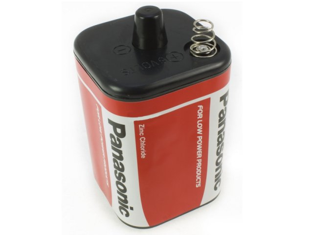 PANASONIC PJ996 6V Zinc Chloride Battery