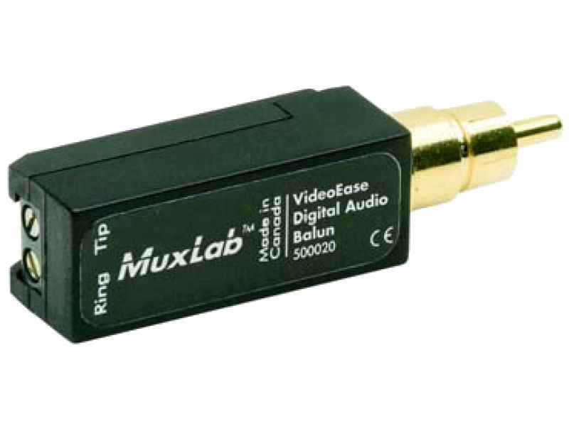 MUXLAB Digital Audio Over x1 CAT5e Balun