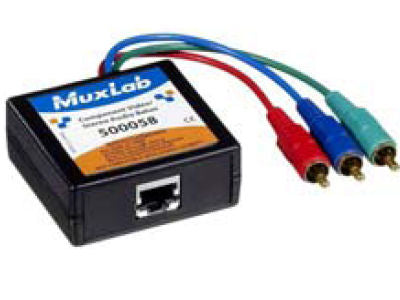 MUXLAB Component Video/Stereo Audio Balun