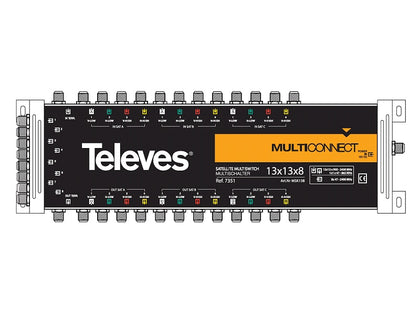 TELEVES 13x13x8 CASCADE Multiswitch