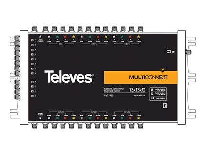 TELEVES 13x13x12 CASCADE Multiswitch