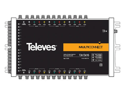 TELEVES 13x13x16 CASCADE Multiswitch