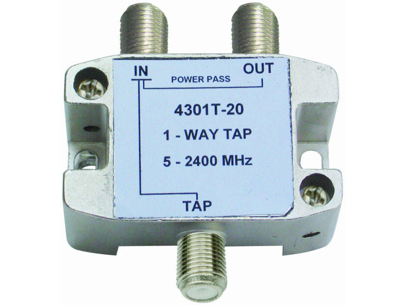 Internal 1/20 'F' Type Tap (5-2400mhz)