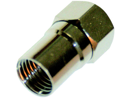 (1) BUDGET Crimp 'F' Connector 1.25mm