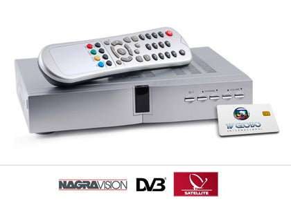Tv Globo Card + Receiver