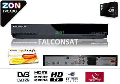 Tvcabo Subcription Card + Zon Digibox Hd Receiver