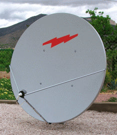 Raven Andrews Channel Master 2.4m Dish With LNB