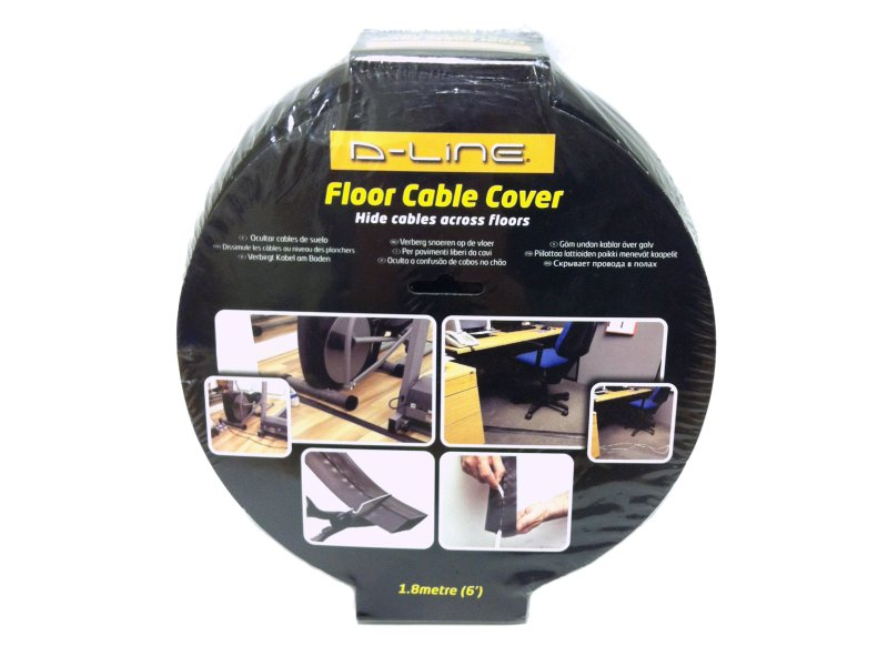 D-LINE Cable Floor Cover 1.8m BLACK