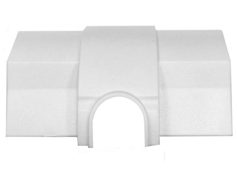 "D-LINE 22 x22mm x 1/4"" CABLE OUTLET White"