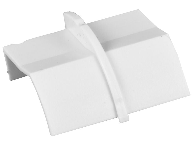 "D-LINE 22 x22mm x 1/4"" COUPLER White"