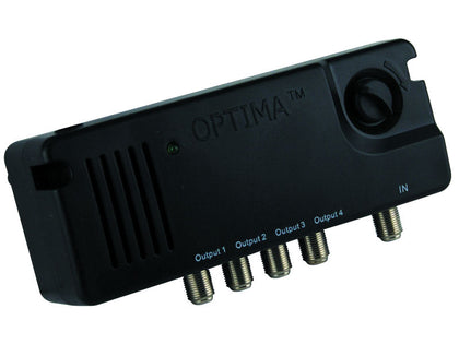 OPTIMA 4 Set Amp 2-12dB Variable 4G-800