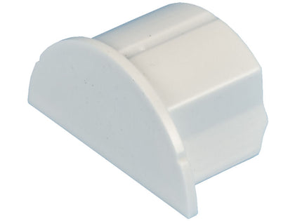 D-LINE 30 x15mm END CAP White