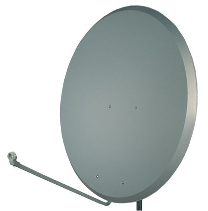 S.A.C. 1.2m Steel Dish CHARCOAL