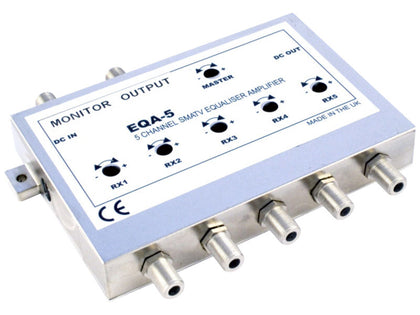 GLOBAL EQA5 Equalised Amplifier for SMC