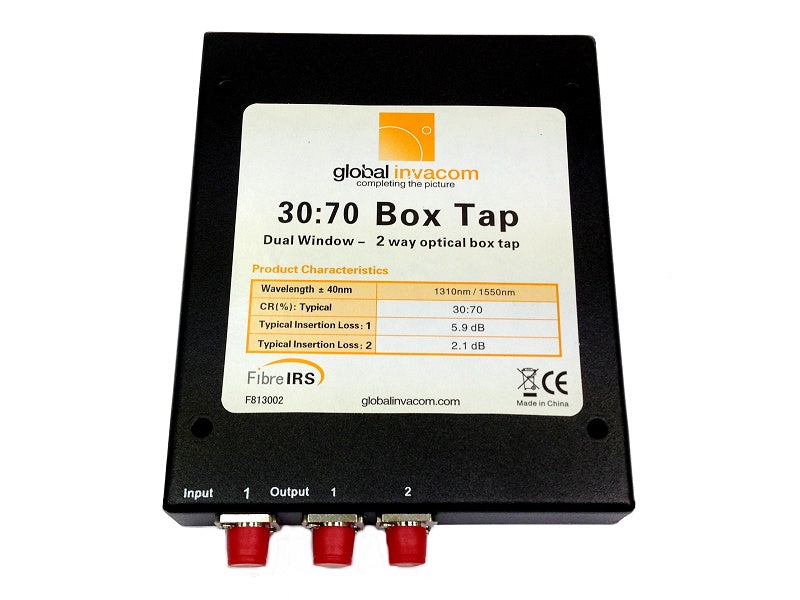GLOBAL 30:70 Fibre Optic Box Tap