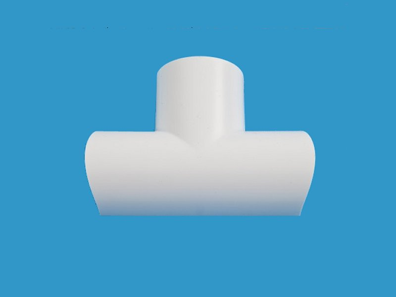 D-LINE 30 x15mm EQUAL TEE White CLIPOVER