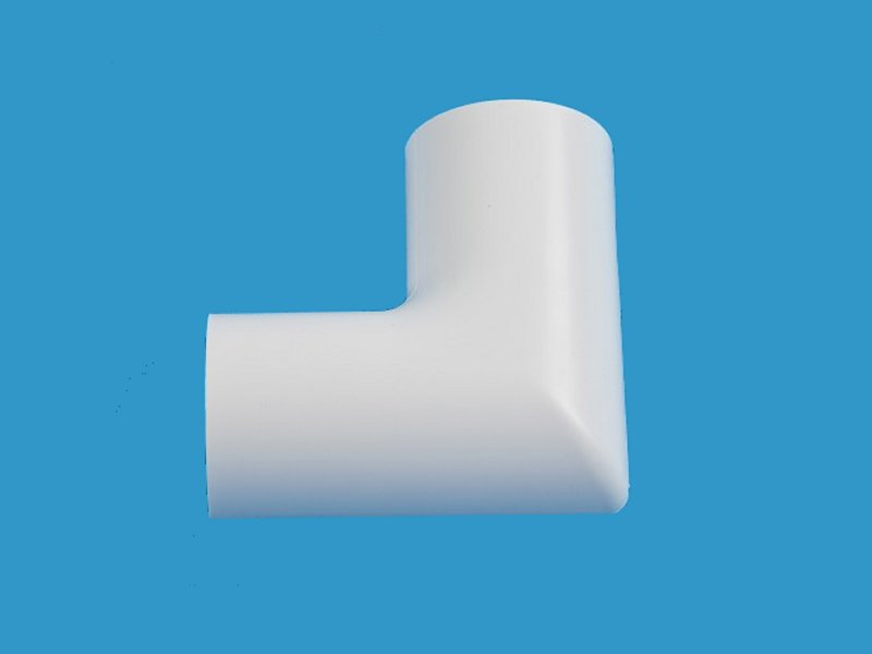 D-LINE 30 x15mm FLAT BEND White CLIPOVER