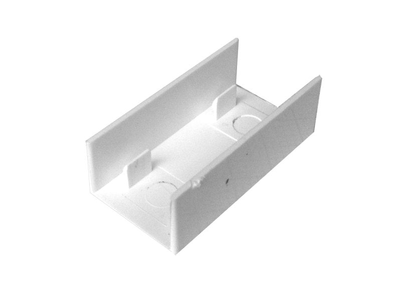 MINI TRUNKING 25x16mm Coupler White