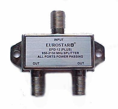 2way Eurostar Splitter