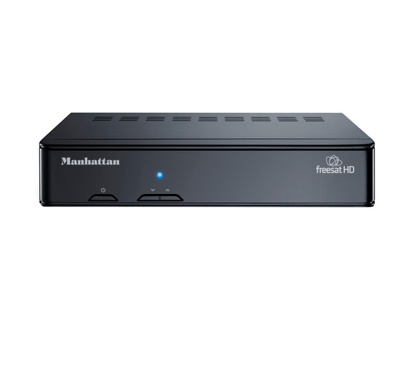 Manhattan Plaza HD-S2 Freesat HD Box HDMI & SCART & USB Ethernet Stereo Black