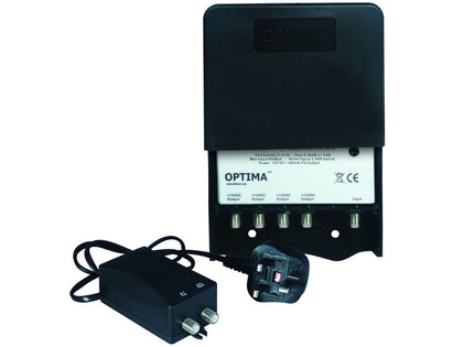 OPTIMA 'F' 4 Way Masthead UHF LTE21-60